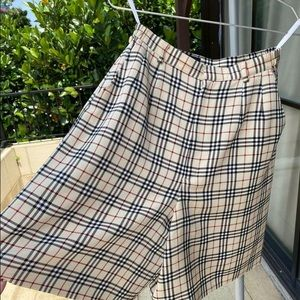 Burberry long shorts size S